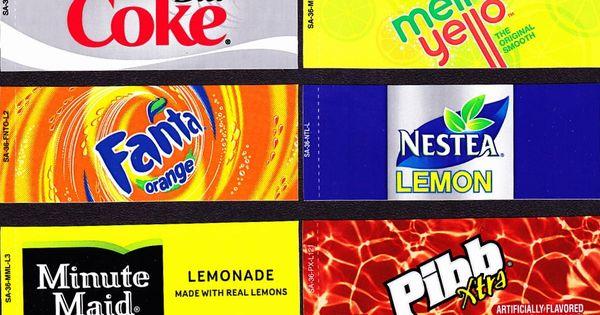 American Girl Doll Wallpaper Coke Machine Labels 10 Coke Mixed Set Small Flavor
