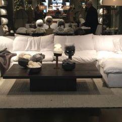 Living Room Color With Grey Sofa Coastal Designs Restoration Hardware