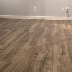 Home Depot Kitchen Flooring Replacing Cabinets Pergo Outlast+ Vintage Pewter Oak 10 Mm Thick X 7-1/2 In ...