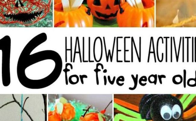 16 Halloween Activities For 5 Year Olds Activities