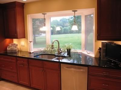 I Love How The Counter Goes Out With The Window Could Be A Good Idea For Our Space Kitchen