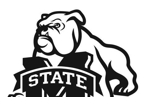 Mississippi State University Coloring Page from