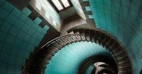 Awesome Spiral Staircase. Luxuryprivatelistings.com # ...