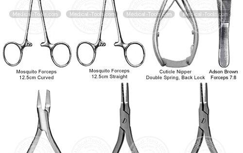 Toe Nail Removal Set Podiatry Instruments Medical Tools