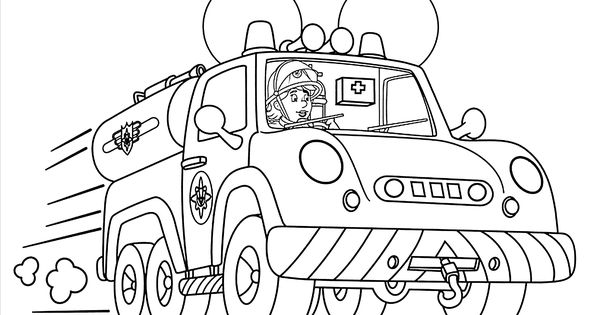 Penny from Fireman Sam coloring pages for kids, printable