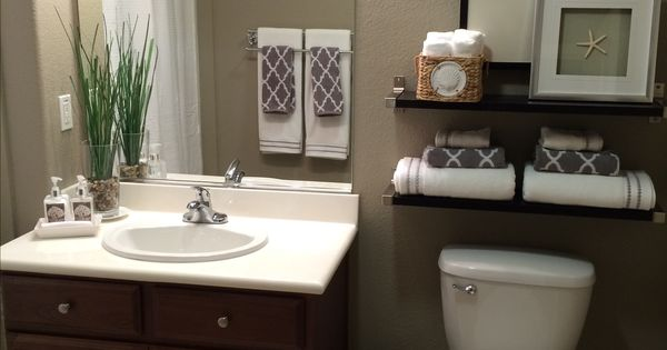 Guest Bath Paint Color Is Taupe Tone By Sherwin