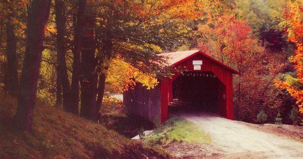 New England Fall Wallpaper Free Fall Desktop Wallpaper Covered Bridge Best Wallpaper