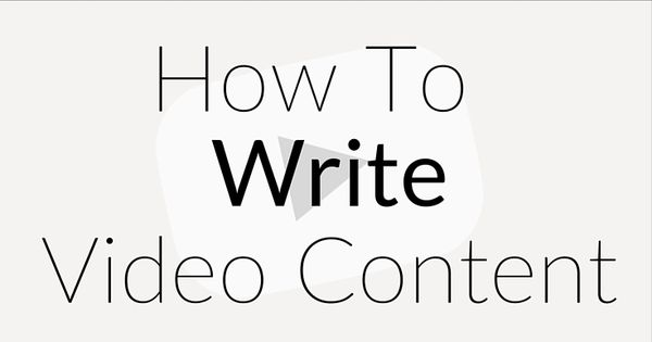 How to write a script for your video blog! Writing a blog