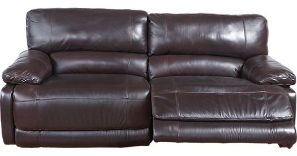 jennifer convertibles leather reclining sofa fringe the auburn hill combines comfort of ...