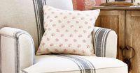 prairie-chic-ticking-stripe-chair | Living Room ...