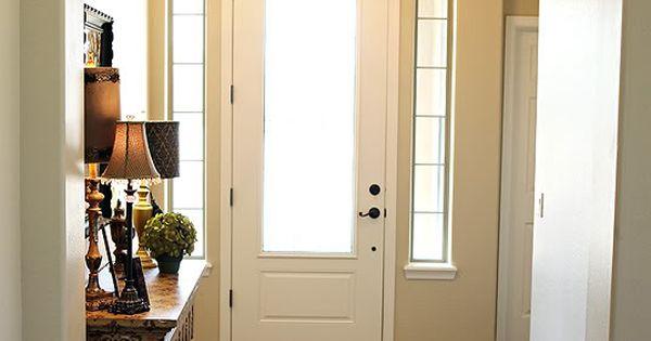 Love thisPaint Color Dunn Edwards brand cochise trim Swiss coffee wood floors Reward Granada