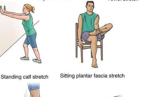 physical therapy pinterest the ojays plantar fasciitis and diet