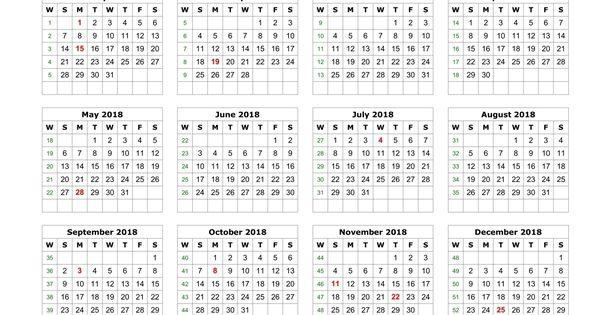 2018 Calendar Printable http://calendarprintablehub.com