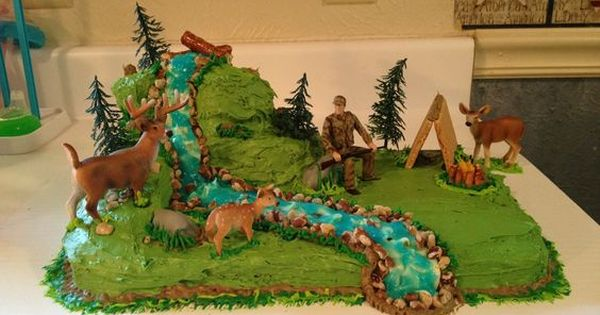 Deer Hunting Birthday Cake For Boys Google Search