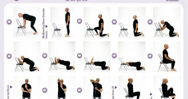 chair yoga pinterest  Google Search  Chair yoga