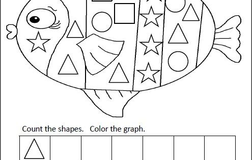 Free shapes graphing activity. Practice shape recognition