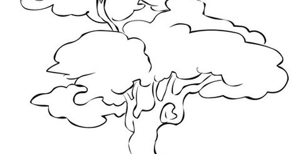 Many animals live in trees Coloring Page from TwistyNoodle