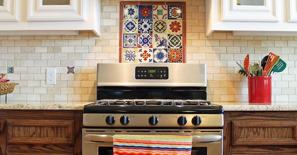 mexican style kitchen decor buy commercial equipment online spanish-style #kitchen design with saltillo #tile floors ...