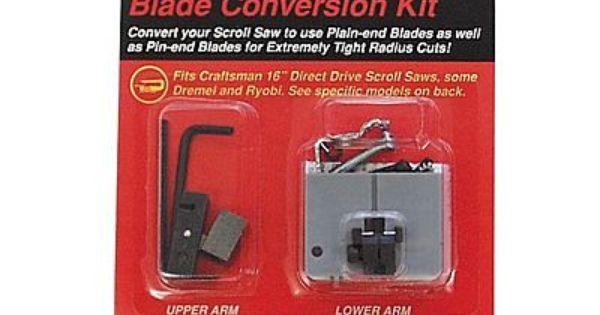 Craftsman Scroll Saw Blade Conversion Kit Scroll Saw