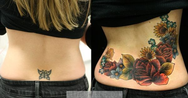 lower tattoo cover - google