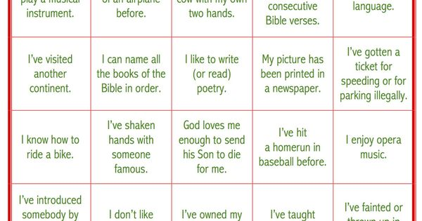 Todays Game Is Life Experiences BINGO This Makes A