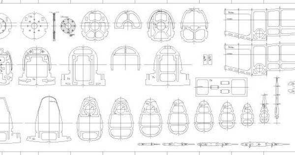 Details zu Modellbaupläne Messerschmitt Bf (Me) 109, M 1:5