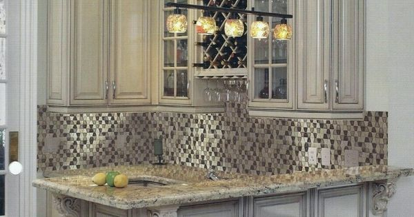 glass subway tile kitchen backsplash dining chair pads glazzio tranquil trapezoid collection | ...