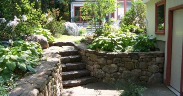 Backyard Walk Out Basement Idea If We Need Retaining