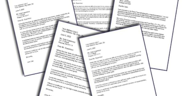 Resignation letter samples you can use when you are