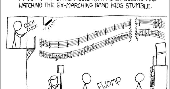 Marching bands, Marching band humor and Band on Pinterest