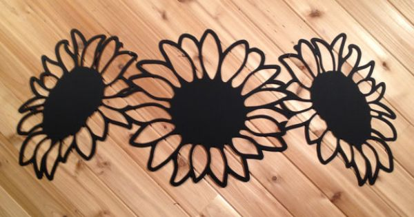 Large Metal Sunflower Wall Decor By Precisioncut By