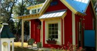 tiny red house...love! | My Tiny House | Pinterest ...