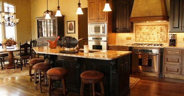 Warm Cabinets Kitchen Remodel Pinterest Kitchen