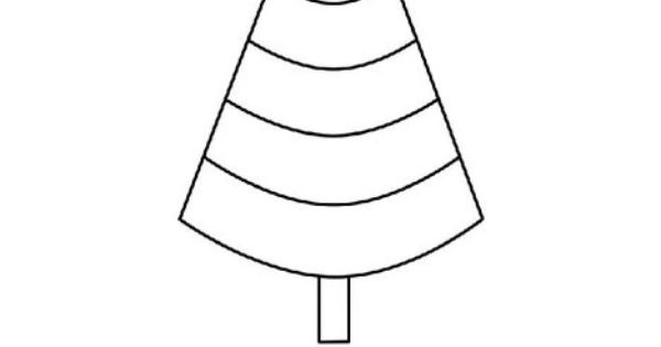 Cone Shaped Tree Interactive Coloring Worksheet lets you