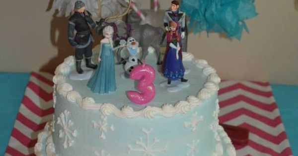 Frozen Cake Cake Came From Kroger Brannon Crossing And It