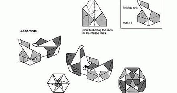 Origami Hexagon Flower Box Don't know if I can make it