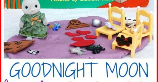 Goodnight Moon Lavender Playdough Home Plays And The Ojays