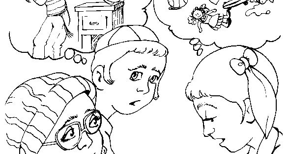 Asking Forgiveness Pages Coloring Pages
