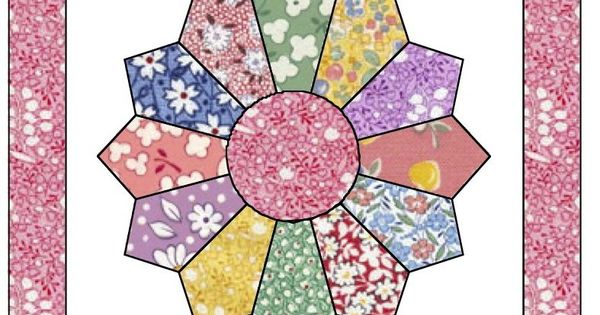 Free Dresden Plate Quilt Pattern Apple Avenue Quilts