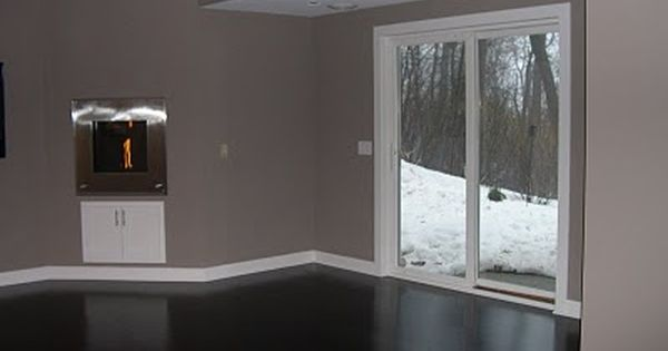 formal living room curtains sunken design ideas pictures waynesboro taupe - benjamin moore | wall paint pinterest ...