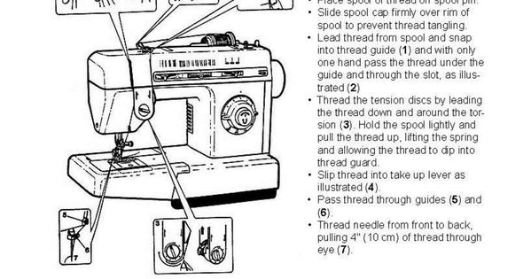 Janome Sewing Machine Manuals Free Download