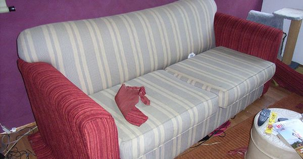 reupholstering sofa cushions do it yourself queen size leather sleeper sofas yourself: how to reupholster a couch | furniture ...