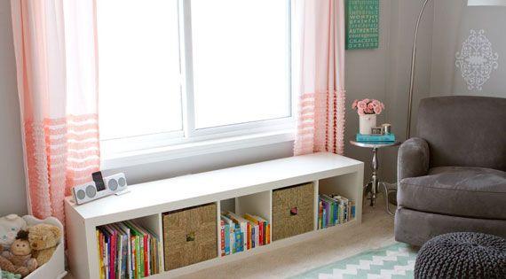 Under Window Storage Bench Nursery Ideas Pinterest Spearmint Baby Shelves And Babies