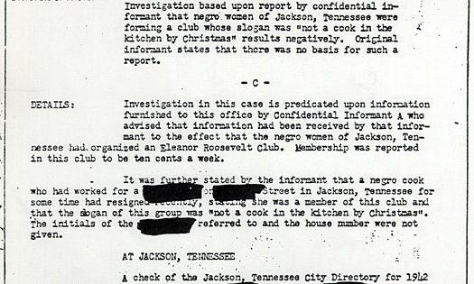 FBI Case File Detective Report Pinterest Roosevelt