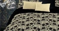 Skull Bedding for Girls Comforter Sets Twin Full Queen ...