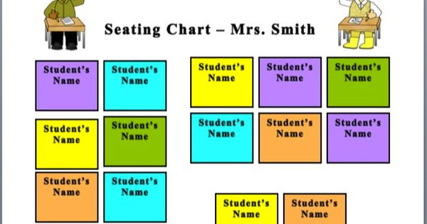 Seating Chart  Charts Classroom and Change 3