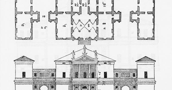 7) Villa Pisani; Montagnana (Padova); designed in 1552