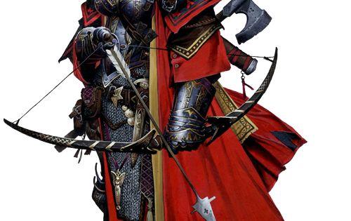 Half-orcs Of Pathfinder RPG