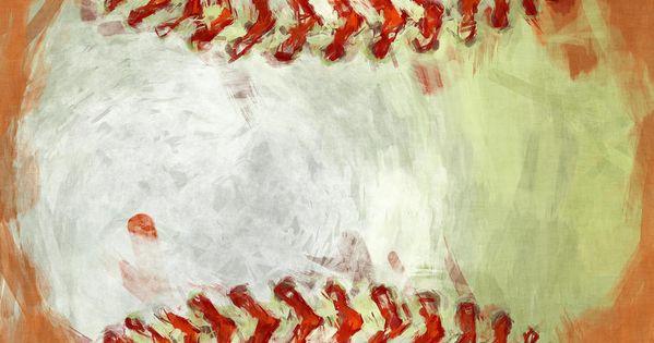 Abstract Baseball Photograph  Abstract Baseball Fine Art
