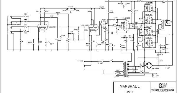 Dumble Amp Wiring Diagram. schematic ckt of a dumble